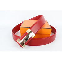 Hermes belt men's and women's casual casual style H letter fashion belt119
