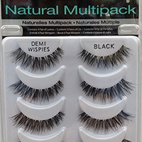 Ardell NATURAL MULTIPACK DEMI WISPIES False Eyelashes Fake Lashes 61494 4 pairs