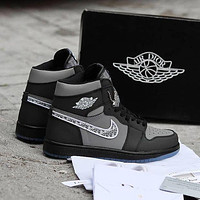 Nike Air Jordan 1 High-Top Sneakers Shoes
