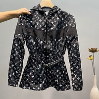 LV 2020 new full printed women's windbreaker jacket skin clothing