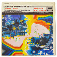 Vintage 60s The Moody Blues Days of Future Passed Album Record Vinyl LP