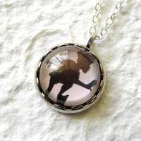 Pan's Shadow Petite Necklace  Inspired from by TheGreenDaisyShop