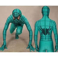 Lycra Spandex Black Spiderman Costume with Red Stripes Full Body [TWL110916014] - $36.99 : Zentai, Sexy Lingerie, Zentai Suit, Chemise