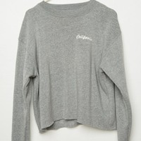 ACACIA CALIFORNIA EMBROIDERY SWEATSHIRT