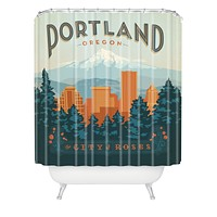 Anderson Design Group Portland Shower Curtain