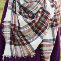 Mint To Have Blanket Scarf