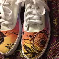 """Dream Catcher Shoes """"Never Stop Dreaming"""""""