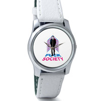 Fuck Society Mr. Robot Inspired Art Wrist Watch