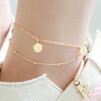 Being Bohemian Anklet - Gold