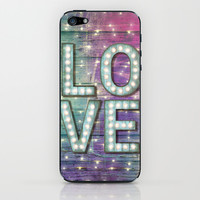 Love is the Light of Your Soul (LOVE lights III) iPhone & iPod Skin by soaring anchor designs ⚓   Society6