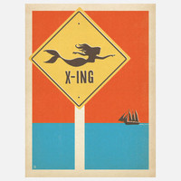 Anderson Design Group: Mermaid X-ing 18x24, at 26% off!