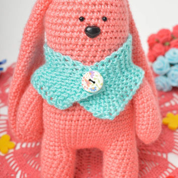 Handmade toy unusual toy crochet toy for baby only gift ideas soft toy