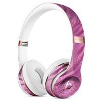Glamorous Pink Toned Zebra Full-Body Skin Kit for the Beats by Dre Solo 3 Wireless Headphones