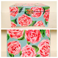 Lilly Pulitzer Inspired Jewelry Box