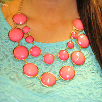 Best All Around Necklace: Pink | Hope's