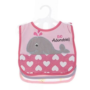 3pk Sea Animal Bib Set 310374182 | Bibs | Bibs | Feeding | Burlington Coat Factory