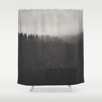 Fade Away Shower Curtain by Tordis Kayma