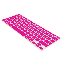 For Macbook Pro Air 11 13 15 Keyboard Silicone Skin Cover Protector Hot Pink