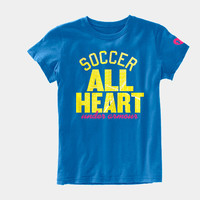 Girls' UA All Heart Graphic T-Shirt | 1236134 | Under Armour US