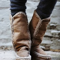 mou Womens Mou Anywhere for You Tall Boot