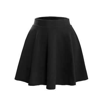 Textured Flared Skater Skirt (CLEARANCE)