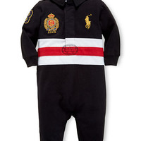 Ralph Lauren Childrenswear Baby Boys Rugby Coverall