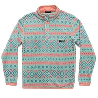 Pisgah Aztec Pullover in Sandstone by Southern Marsh