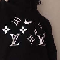 LV X Nike Women Hot Hoodie Sweater