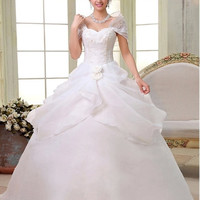 wedding dresses 2015 new bride wedding dress wedding lace wedding dress bridal dresses = 1929334596