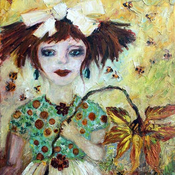 "Leora #1 ""Leora and her Bees"""