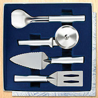 Rada Ultimate Utensil Gift Set  S50 Pizza Cutter Spatula Made in USA