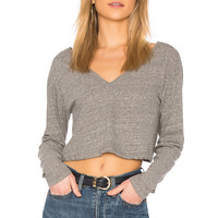 A.L.C. Bastille Top in Heather Grey
