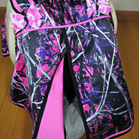 Pink Camo Car Seat Canopy/Baby Carseat Cover/ Infant Carseat Canopy Cover
