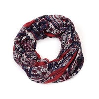 Floral Printed Red Women _ 10068