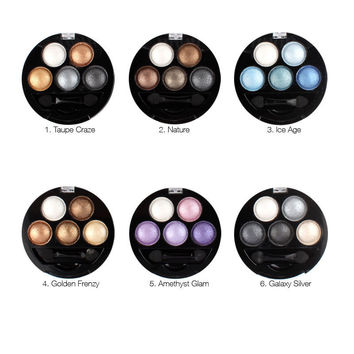 Eyeshadow 5 Colors Eye Shadow Powder Metallic Shimmer Warm Color