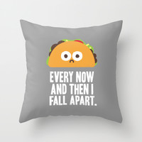 Taco Eclipse of the Heart Throw Pillow by David Olenick