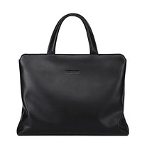 Soft Handle Leather Briefcase