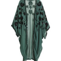 Sequined kaftan - from H&M