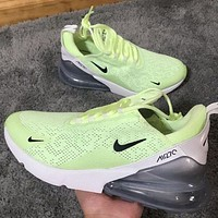 Nike Air Max 270 third-generation shoes Half Palm Air Cushion Mesh Surface Breathable men's and women's casual sports shoes 3