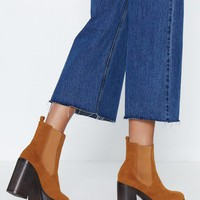 More than a Feeling Platform Bootie