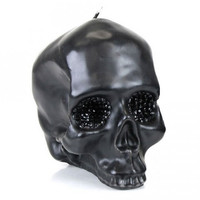 D.L. & Co Crystal Eye Skull Candle