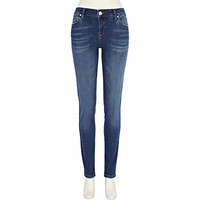 Mid wash Taylor skinny jeans