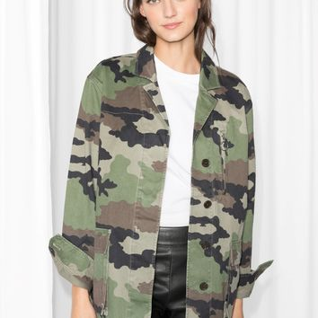& Other Stories | Camo Jacket | Camo