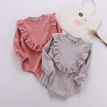 Ins New Baby Clothes, Autumn Clothes, 0-3 Years Old, Outdoors Clothes, girl and boy romper Climbing Clothes, Kazakhstan Clothing