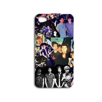 5 SOS Collage Phone Case Cute Band iPhone Cover Girly iPod Case Hot Phone Case iPhone 4 iPhone 5 iPhone 4s iPhone 5s iPod 4 Case iPod 5 Case