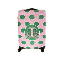 Alpha Kappa Alpha Rolling Luggage Cover (2 Sizes)