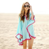 Chic Bikini Swimsuit Cover Up  (One Size)