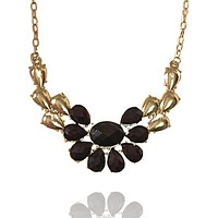 Flower Cut Out Chain Necklace