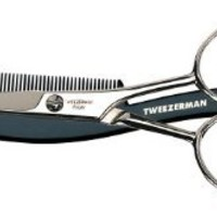 Tweezerman His Moustache Scissors with Comb