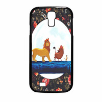 The Lion King Disney Floral Samsung Galaxy S4 Case